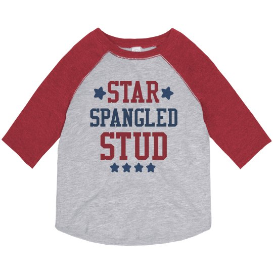 Star Spangled Stud Toddler