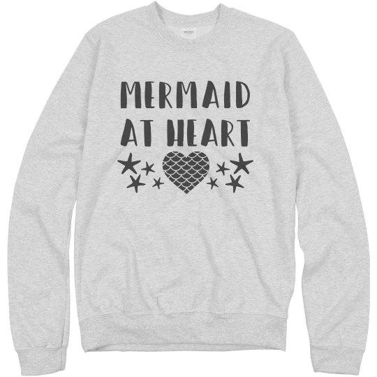 Starfish Mermaid Pullover