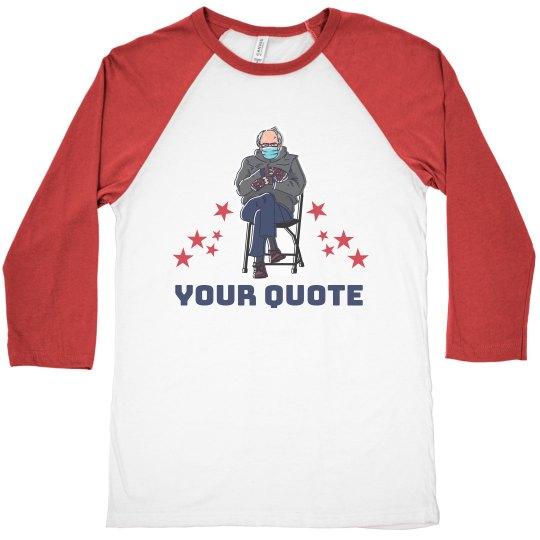 Stars & Sanders Custom Text Top