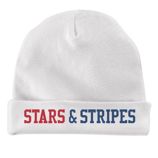 Stars & Stripes Baby Hat