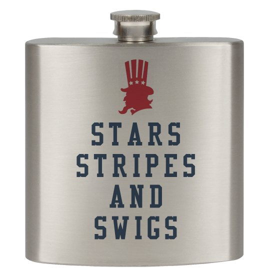 Stars Stripes Swigs