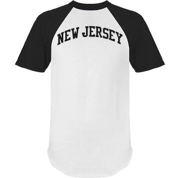 State of New Jersey Custom Personalized Name & Number
