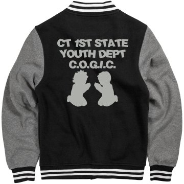 STATE YOUTH LETTERMAN JACKET