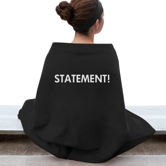 Statement! Blanket