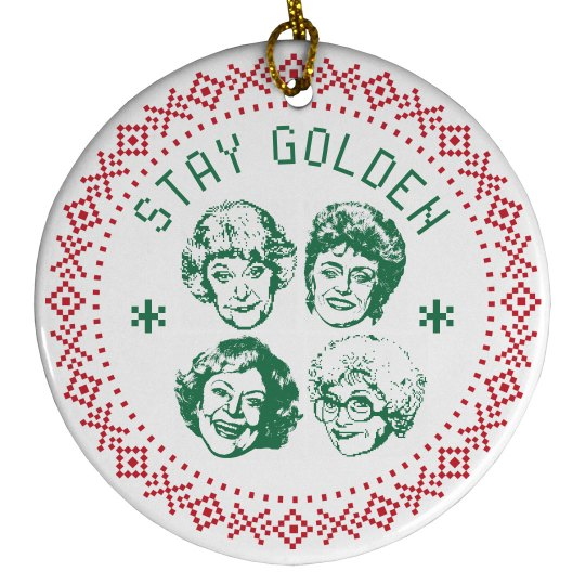 Stay Golden Girls Christmas