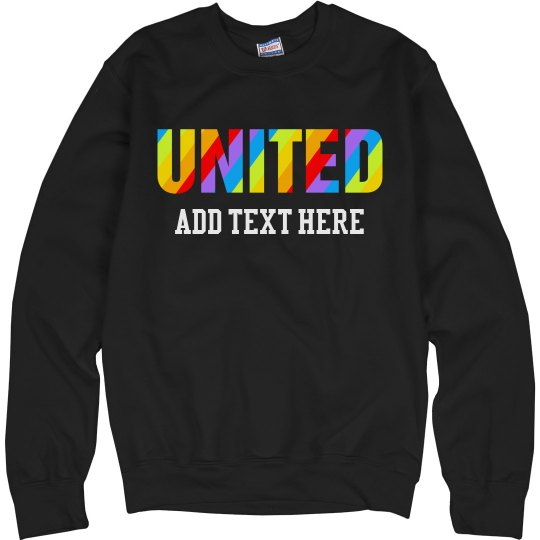 Stay United with Rainbow Stripes