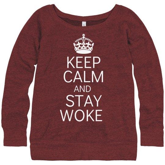 Stay Woke Slouchy Sweater