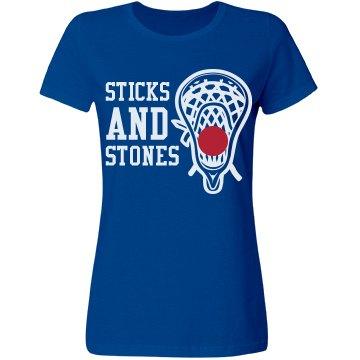 Sticks Stones Lacrosse Girl