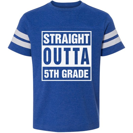 Straight Outta 5th Grade Tshirt