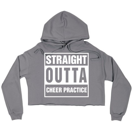 Straight Outta Cheer Practice