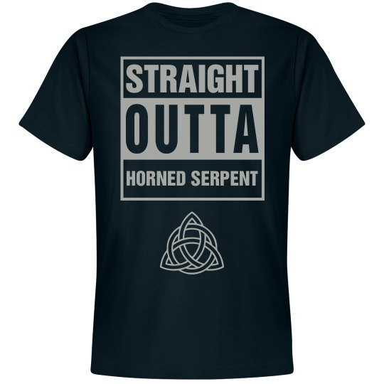 Straight Outta Horned Serpent House