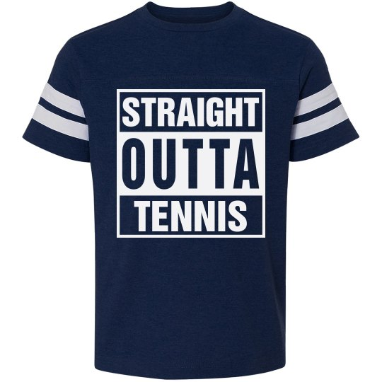Straight Outta Tennis Youth Tee