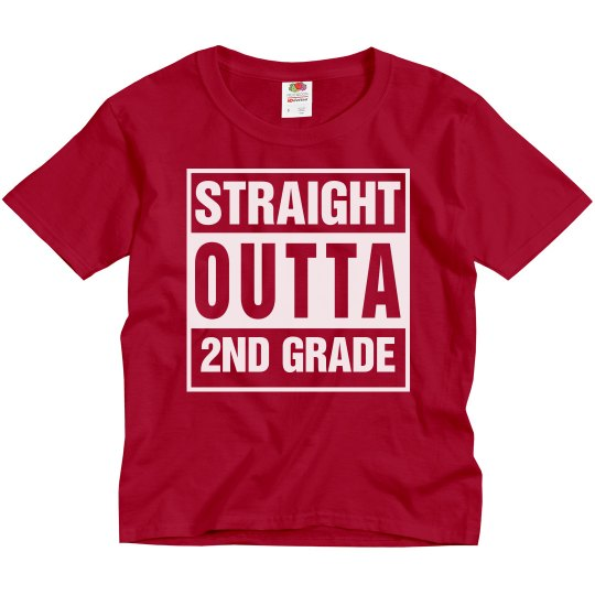Straight Outta The 2nd Grade