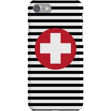 Stripe Cross iPhone Case