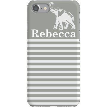 Striped Elephant iPhone