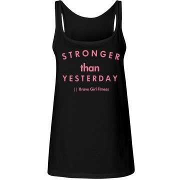 Stronger Than Yesterday Coach