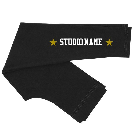 Studio Name Star Youth Leggings