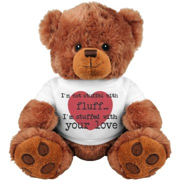 Stuffed of Love Teddy Bear