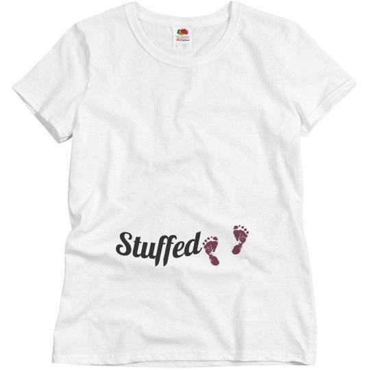 Stuffed Thanksgiving shirt