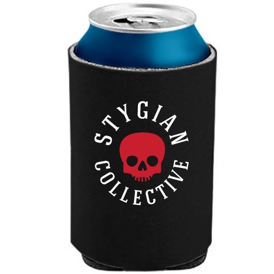 Stygian Collective Beverage Koozie