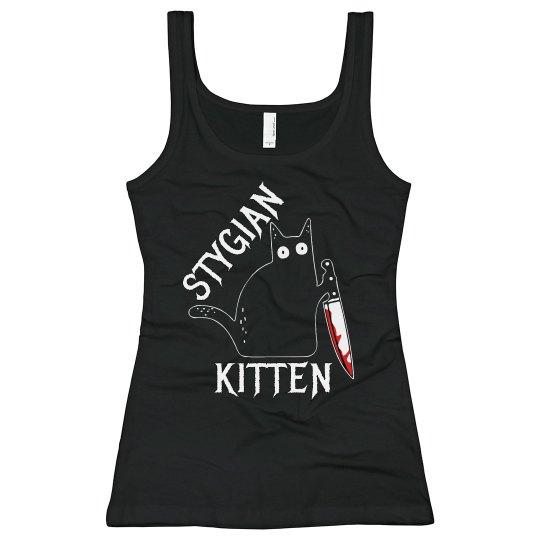 Stygian Kitten Tank Top 2