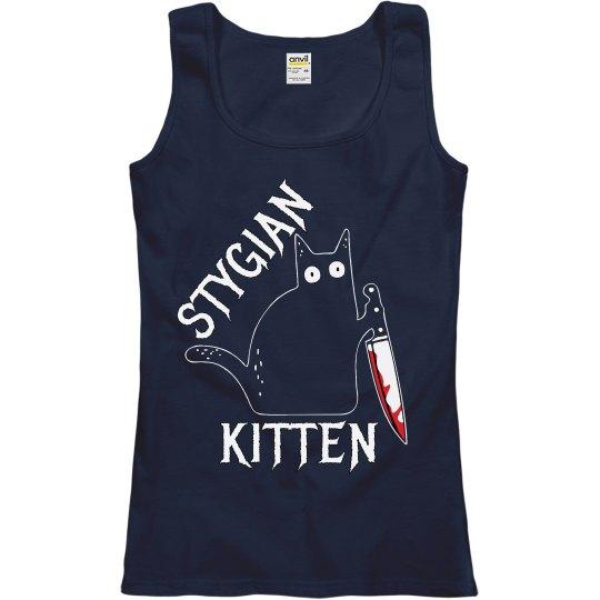 Stygian Kitten Tank Top