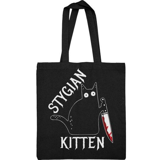 Stygian Kitten Tote
