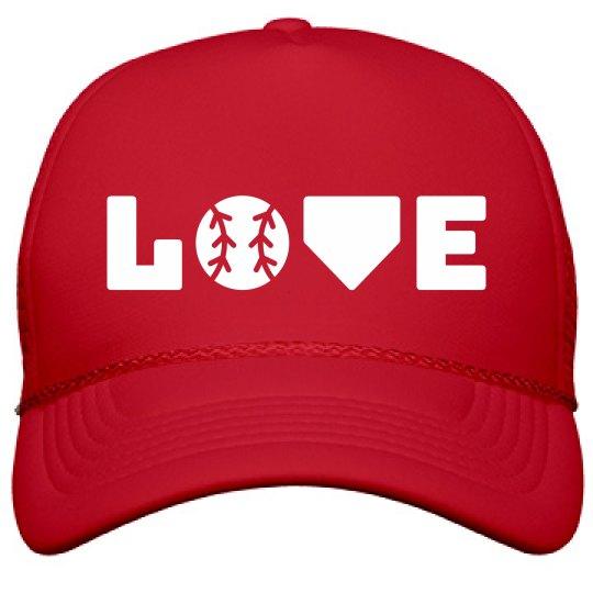 Stylish Seriously Love Baseball
