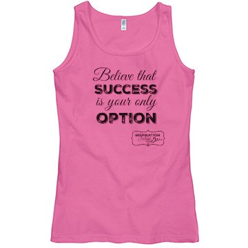 Success tank (tshirt material)