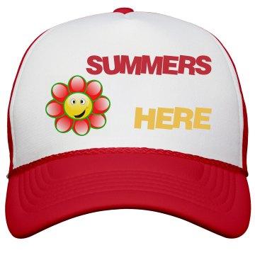 Summers Here Peak Cap