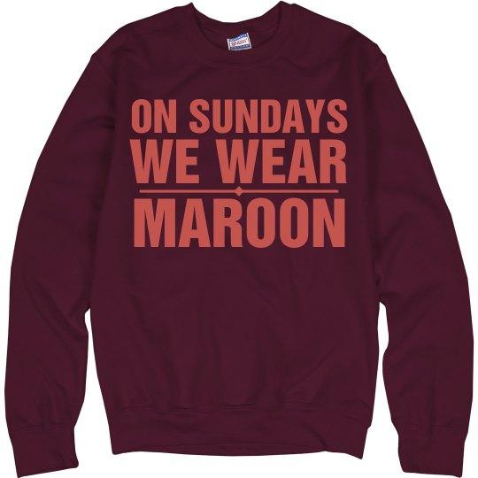 Sundays Maroon