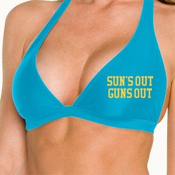 Sun's Out Guns Out Bikini