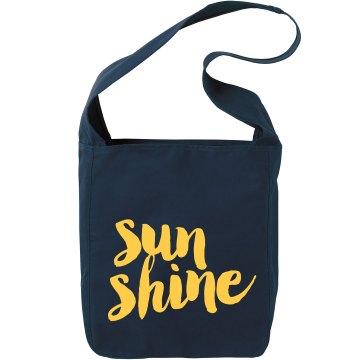 Sunshine canvas bag