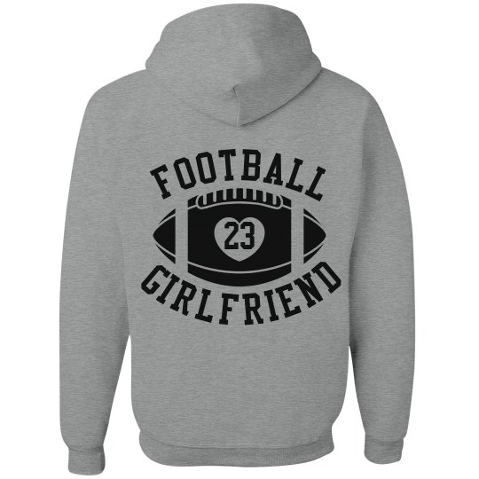 Super Cute and Inexpensive Football Girlfriend Hoodies