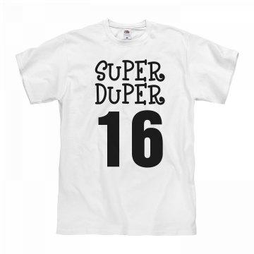 Super Duper 16