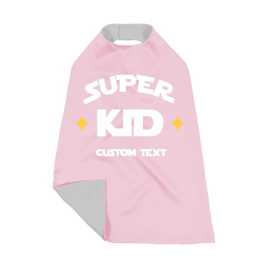 Super Kid Custom Cape