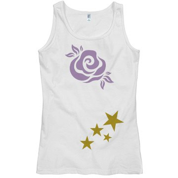Superfly rose star tank top
