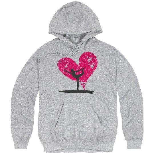 #SUPyogalove sweatshirt