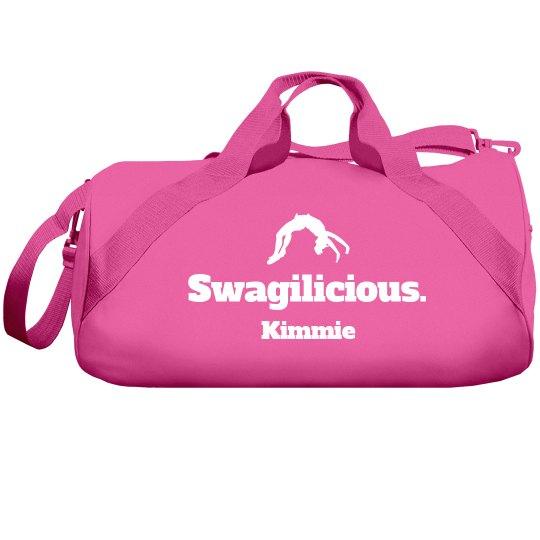 Swagilicious Cheer Bag With Custom Name