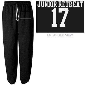SWEAT PANTS JR RETREAT/CHEZNOUS
