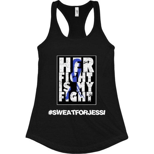 #Sweatforjessi