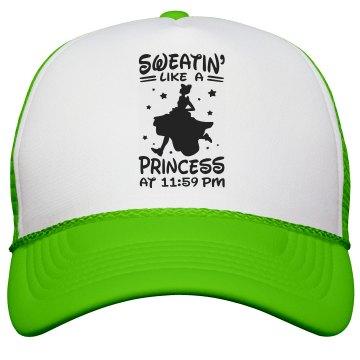 Sweating like a Princess at 11:59pm Hat