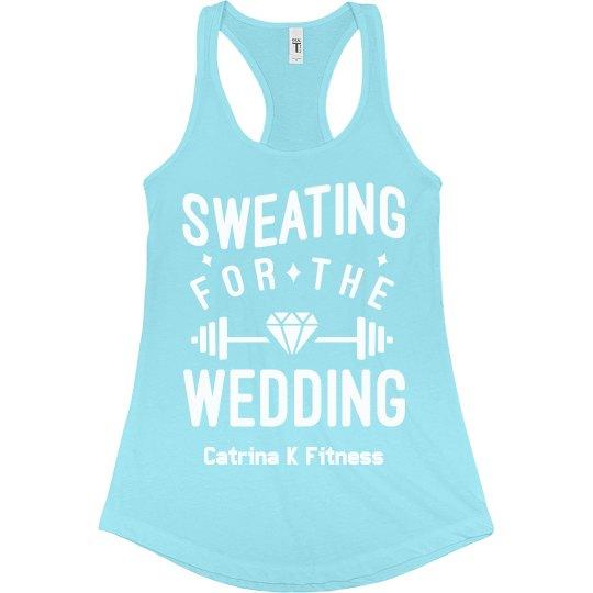 Sweating Wedding Tank