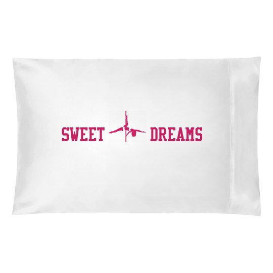 Sweet Pole Dreams Pillowcase (Pink)