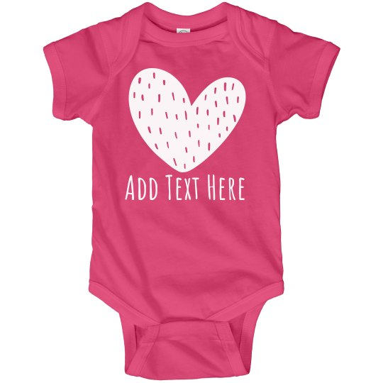 Sweet Valentine Custom Baby