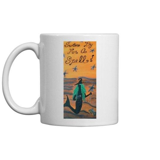 Swim By For A Spell Mermaid Mug