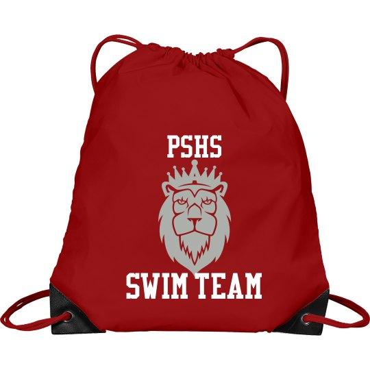 Swim Team Custom Mascot