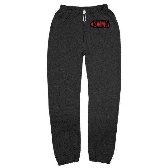 SWMG  Hashtag Grey Sweatpants unisex