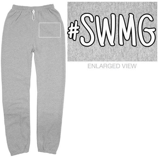SWMG hashtag sweatpants (unisex)