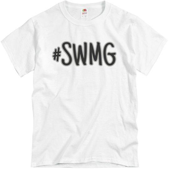 SWMG hashtag t-shirt (unisex)